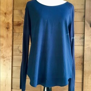 French Connection Polly Plains Long Sleeve Top
